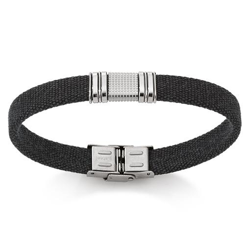 Billede af Cancas armbånd med stållås - 07103617-21 21 centimeter