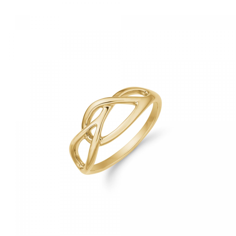 Aagaard 8 kt ring - 08613060 Størrelse 56
