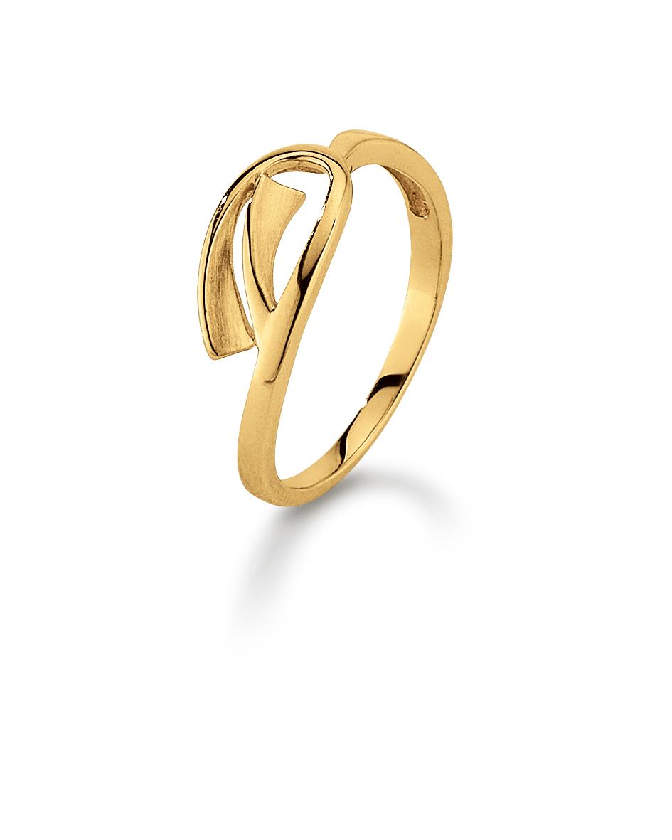 Image of   Aagaard 8 kt ring - 08613719 Størrelse 56