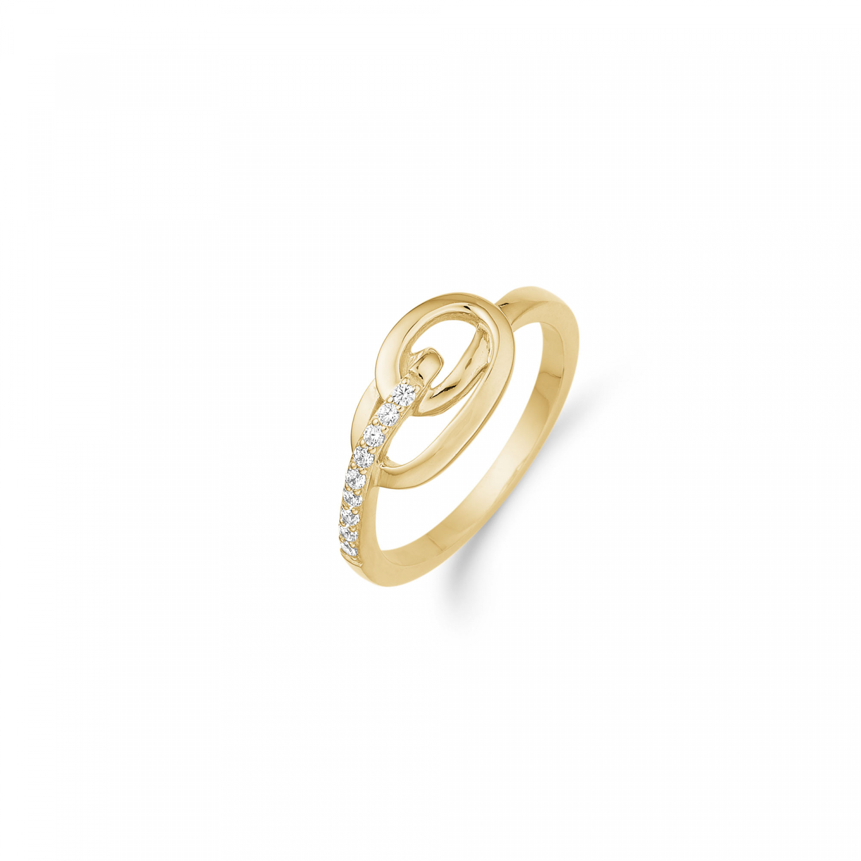 Image of   Aagaard 8 kt ring - 08623090-75 Størrelse 56