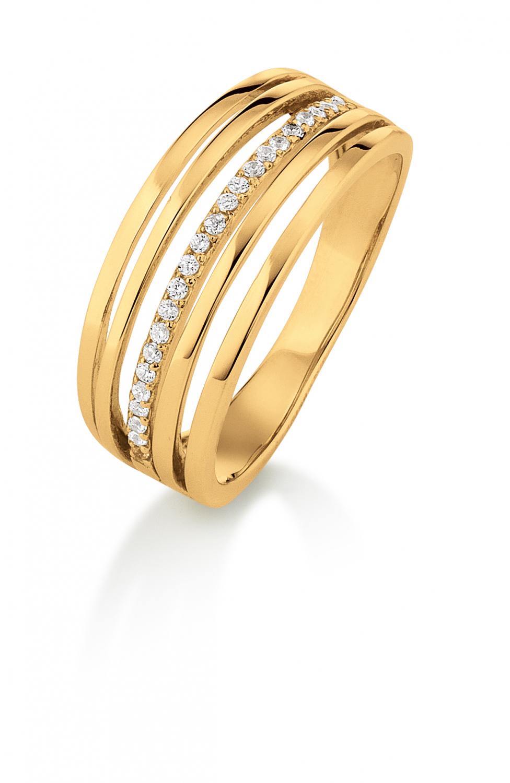 Image of   Aagaard 8 kt ring - 08623882-75 Størrelse 54