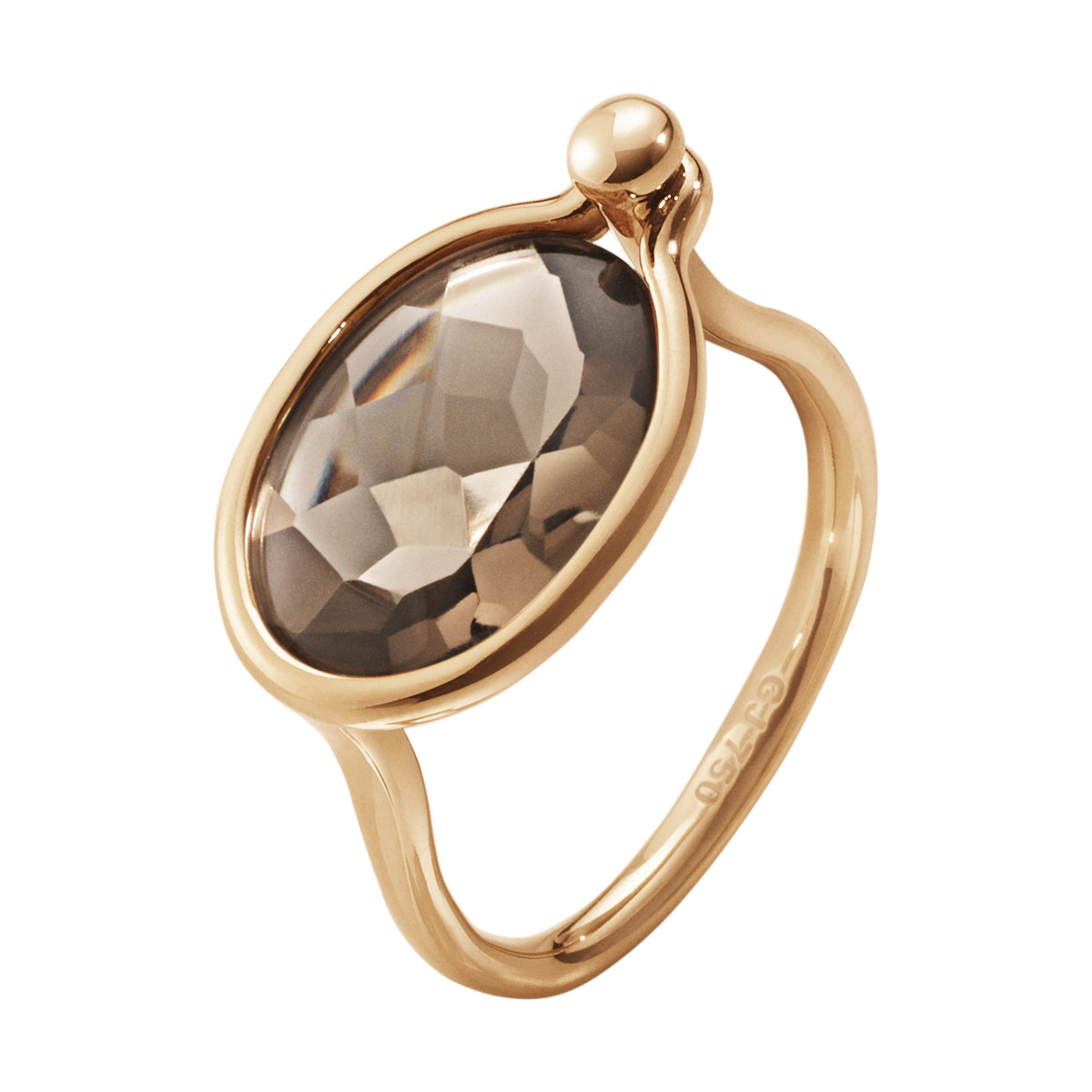 Georg Jensen SAVANNAH ring medium - 10012242 Størrelse 54