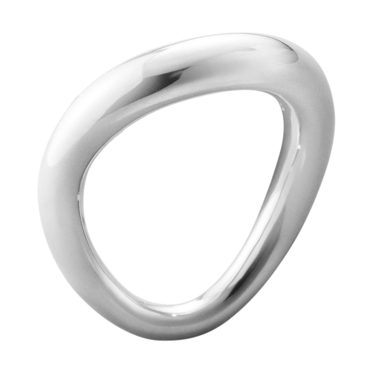 Georg Jensen OFFSPRING sølv ring - 10013245 Sølv 3