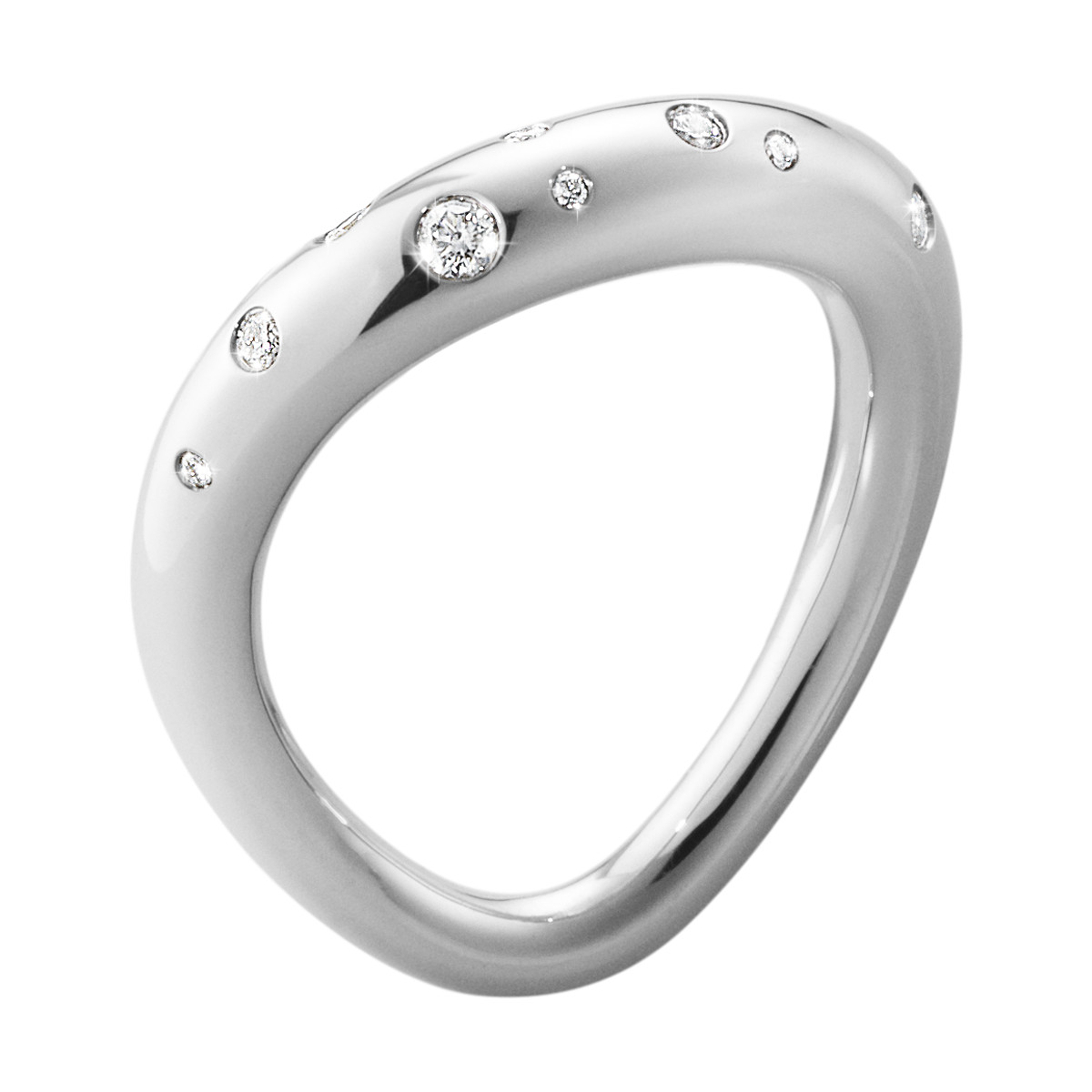 Image of   Georg Jensen OFFSPRING ring - 10013251 3 (52/53)