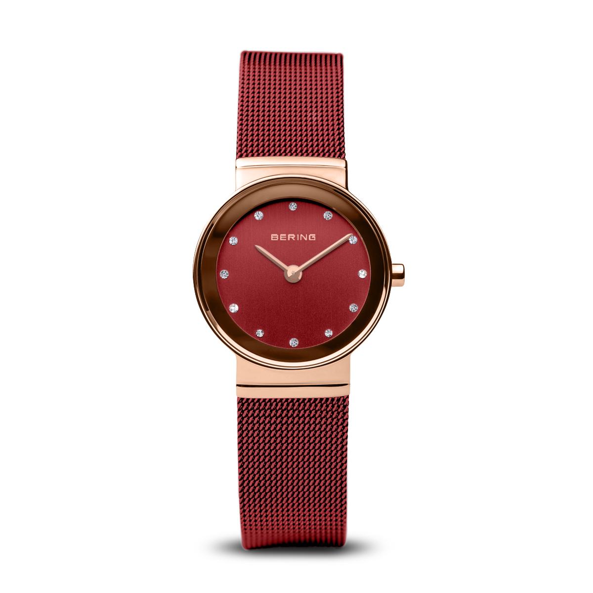 Image of BERING Classic rød dameur - 10126-363