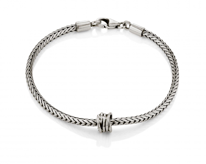 Aagaard sølv armbånd - 11103229-19 19 centimeter fra aagaard fra brodersen + kobborg