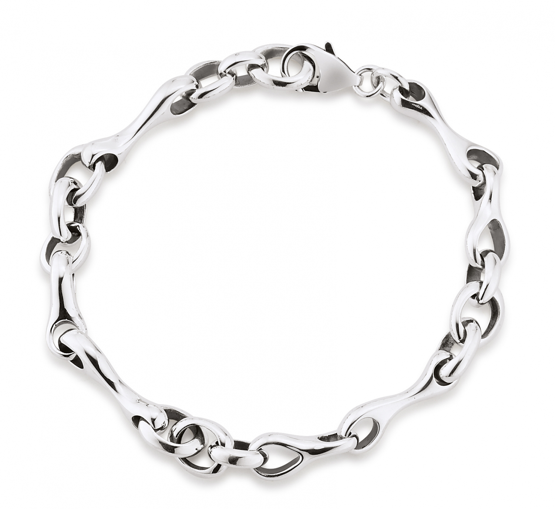 aagaard Aagaard sølv armbånd - 11103850-19 19 centimeter fra brodersen + kobborg