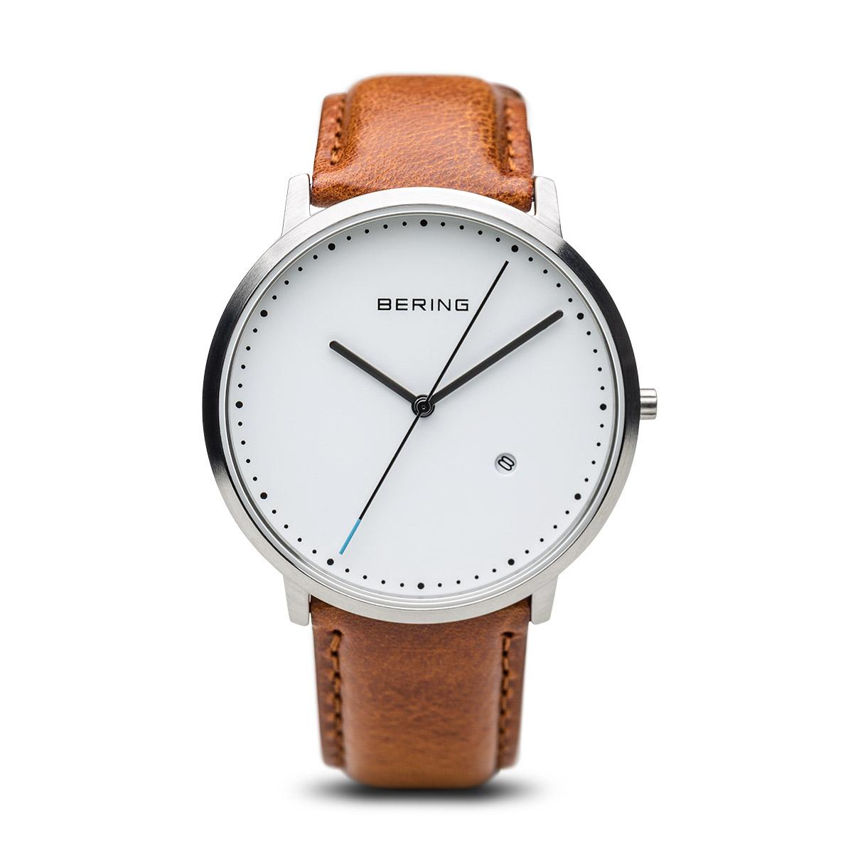 bering Bering ur med brun rem 11139-504 - 11139-504 fra brodersen + kobborg