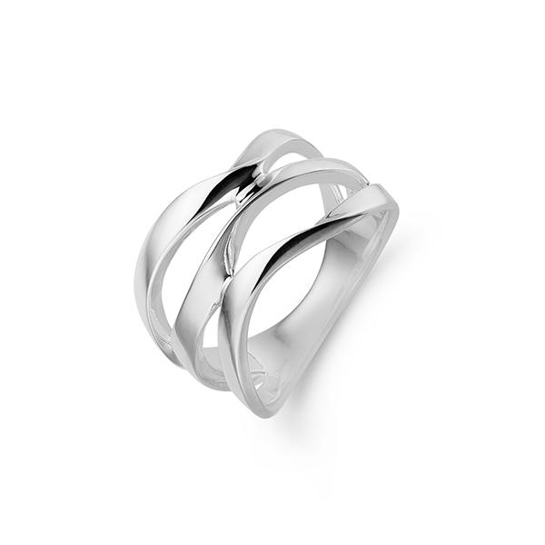 Aagaard Sølv Ring - 11613330 Størrelse 56