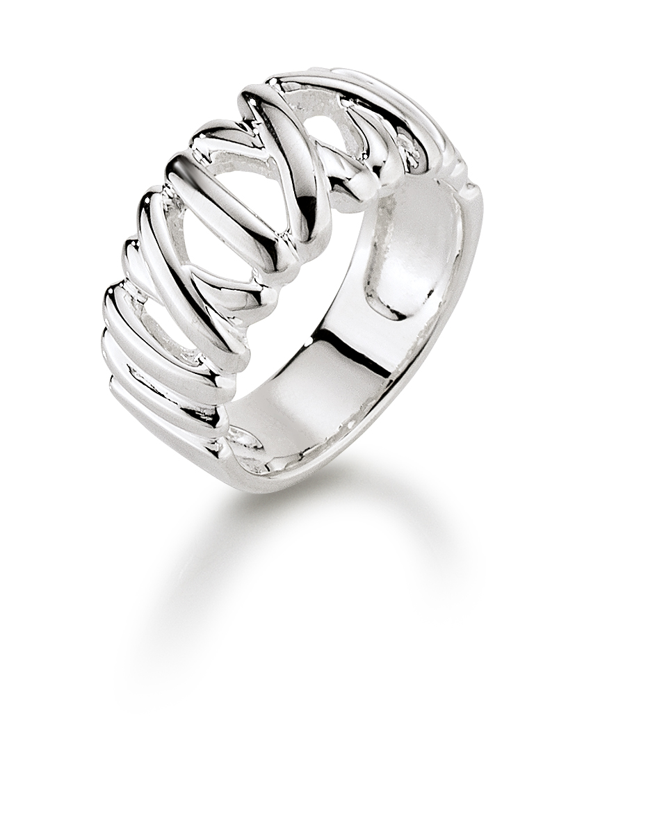 aagaard – Aagaard sølv ring - 11613747 størrelse 58 på brodersen + kobborg