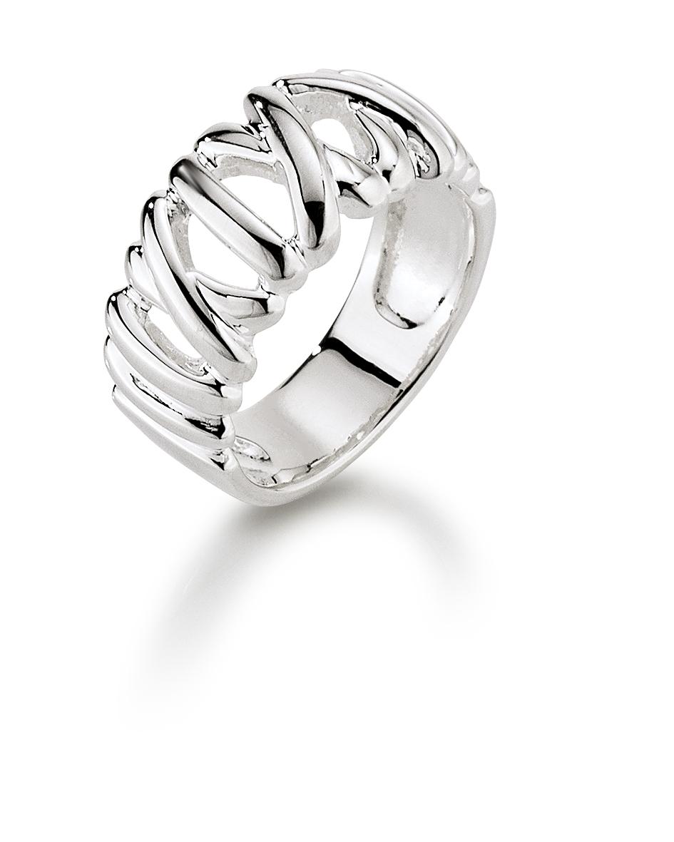 Image of   Aagaard Sølv ring - 11613747 Størrelse 58
