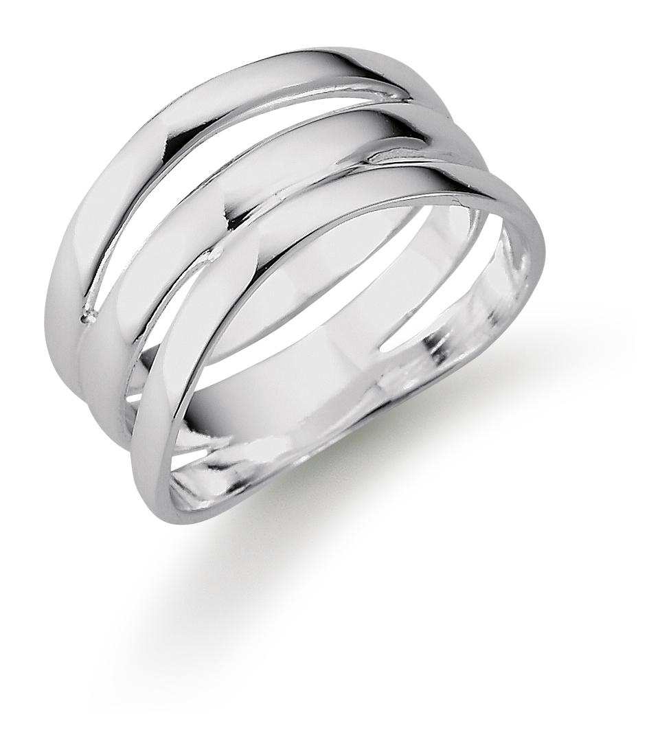 Image of   Aagaard Sølv ring - 11613794 Størrelse 56