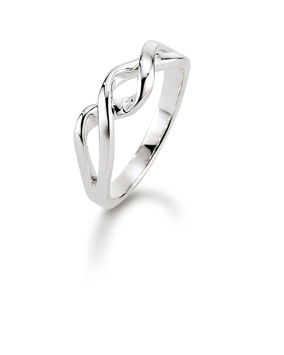 Image of   Aagaard Sølv ring - 11613830 Størrelse 56