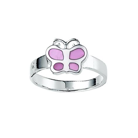Aagaard Børne sølv ring m/sommerfugl - 1169317-37R Størrelse 42