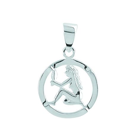 Aagaard sølv stjernetegn - 1181120-jomfru fra aagaard på brodersen + kobborg