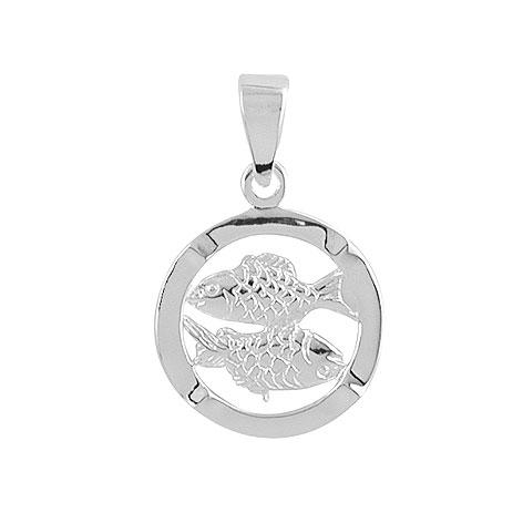 Aagaard sølv stjernetegn - 1181120-fisk fra aagaard fra brodersen + kobborg