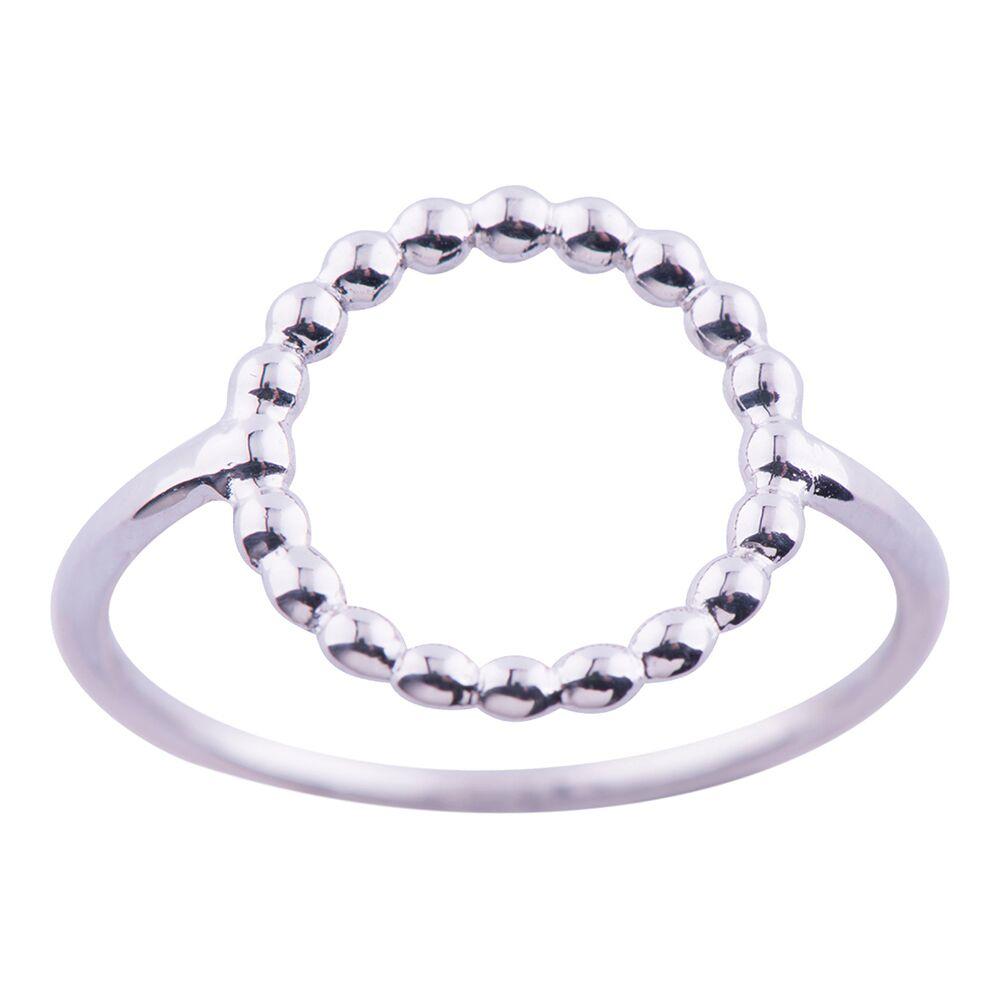 Billede af Rhodineret sølv ring - 125 206 Størrelse 54
