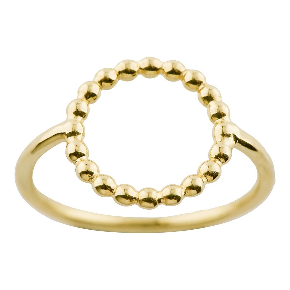 Billede af Nordahl Andersen Forgyldt sølv ring - 125 208 Størrelse 54