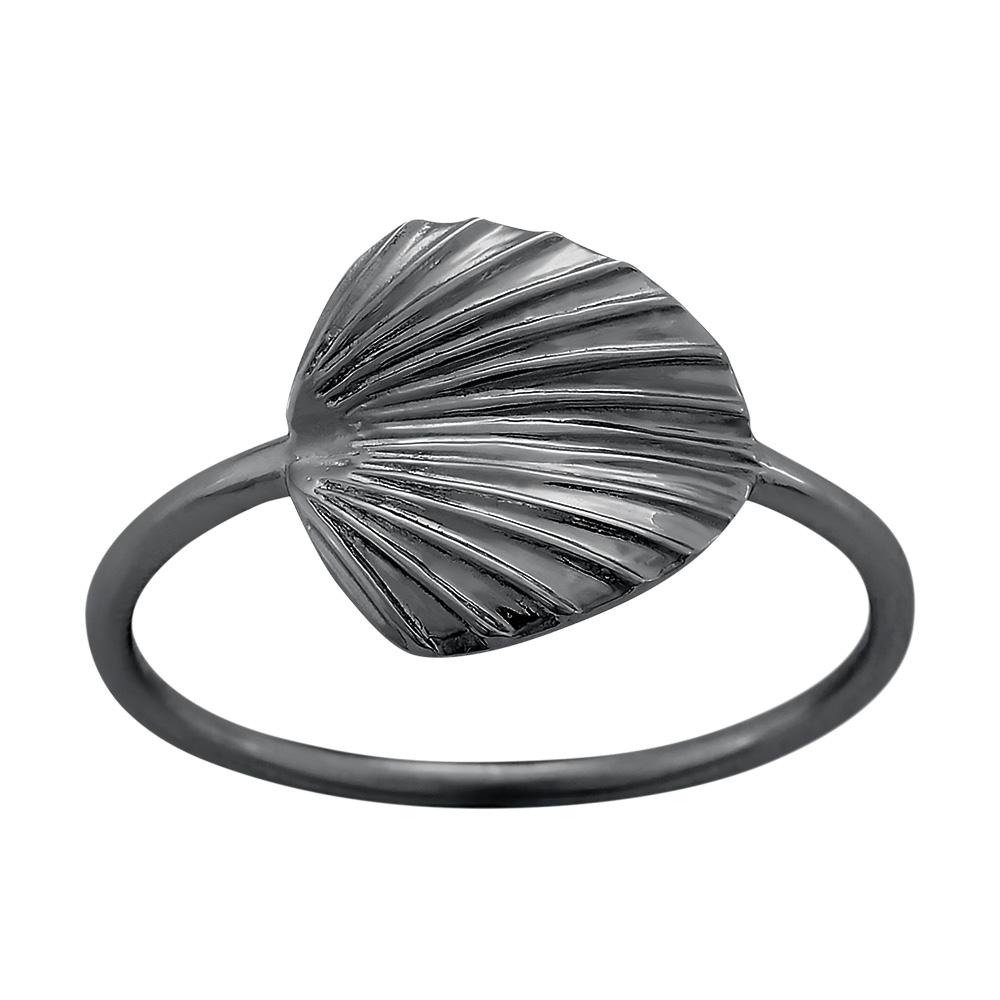 Oxideret sølv ring Licuala - 125 298-2 Størrelse 52