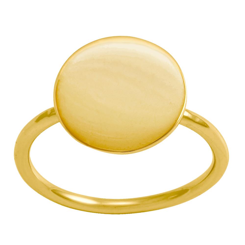 Billede af Forgyldt sølv ring Flash - 133 000-3 Størrelse 52
