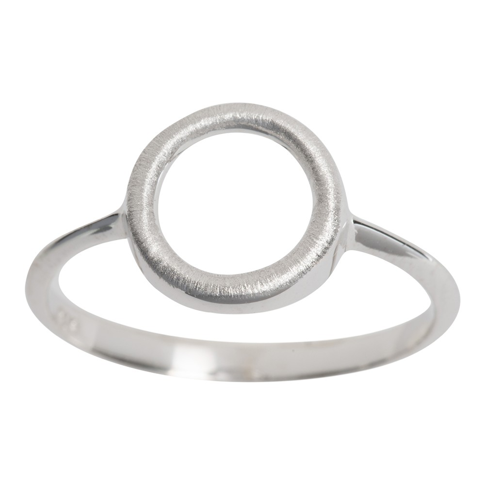 Billede af Nordahl Andersen cirkel ring i sølv - 144603 Størrelse 54