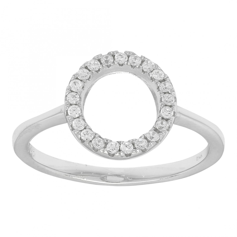 Rhodineret sølv ring anna - 145 034 størrelse 52 fra nordahl andersen fra brodersen + kobborg