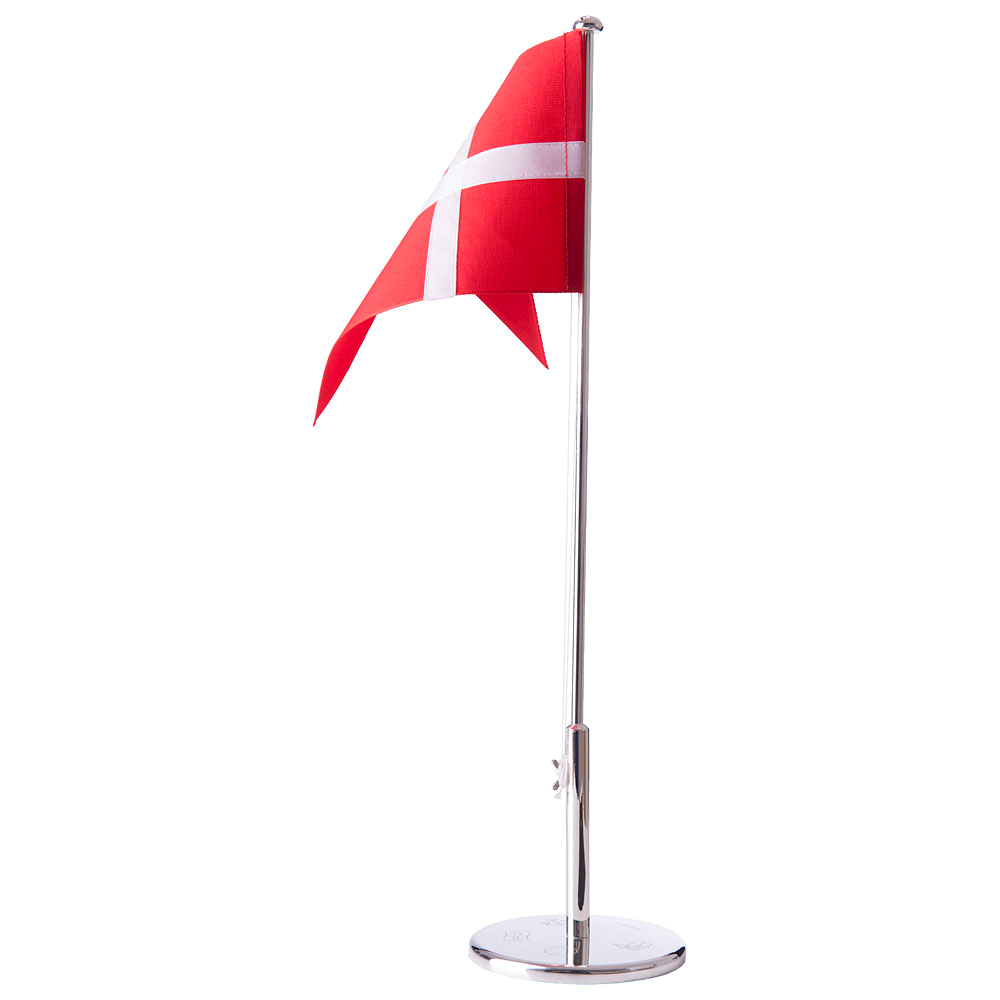Image of   Chrom Flagstang 40 cm - Dåb - 150-81024