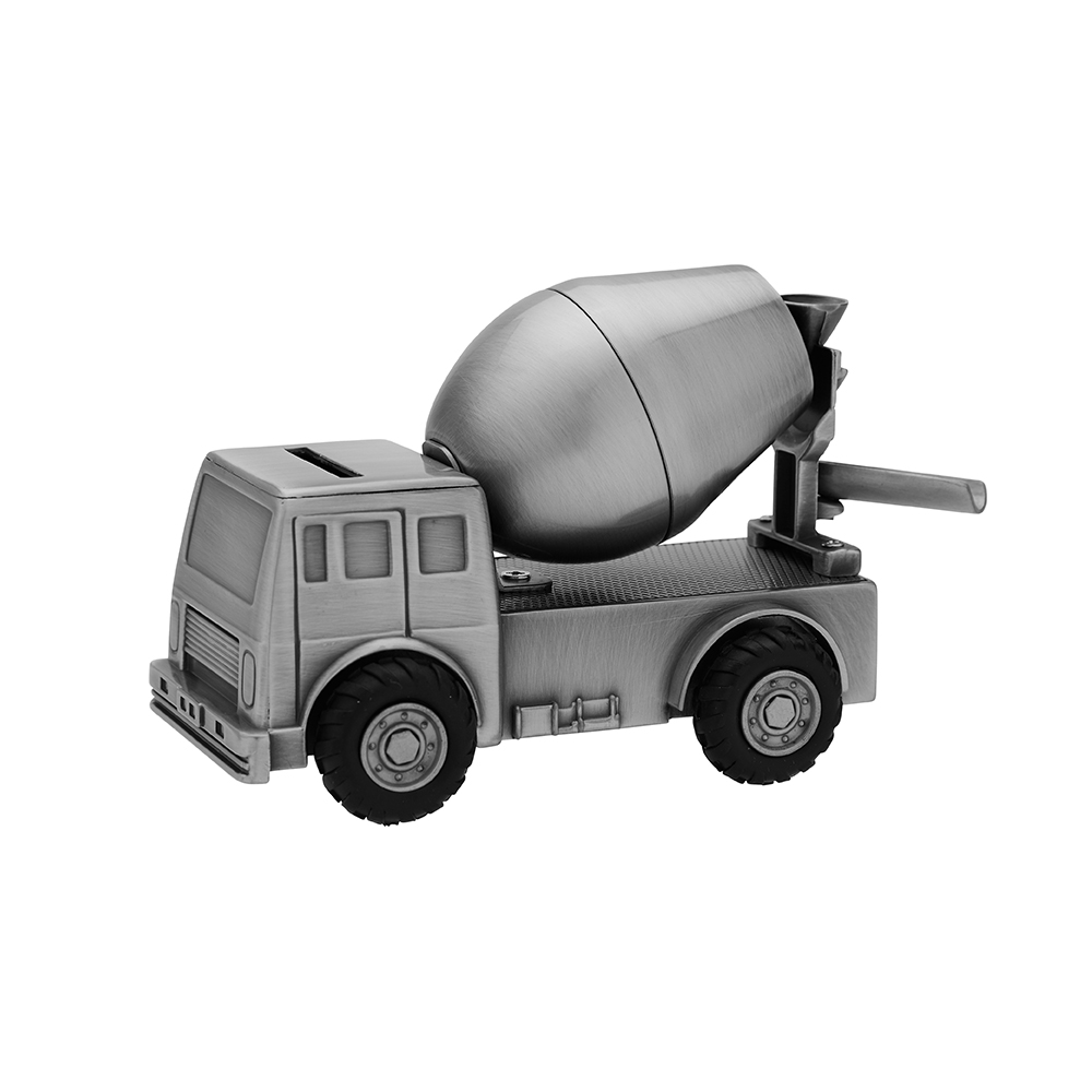 Billede af Fortinnet sparebøsse Cementblander - 152-76285