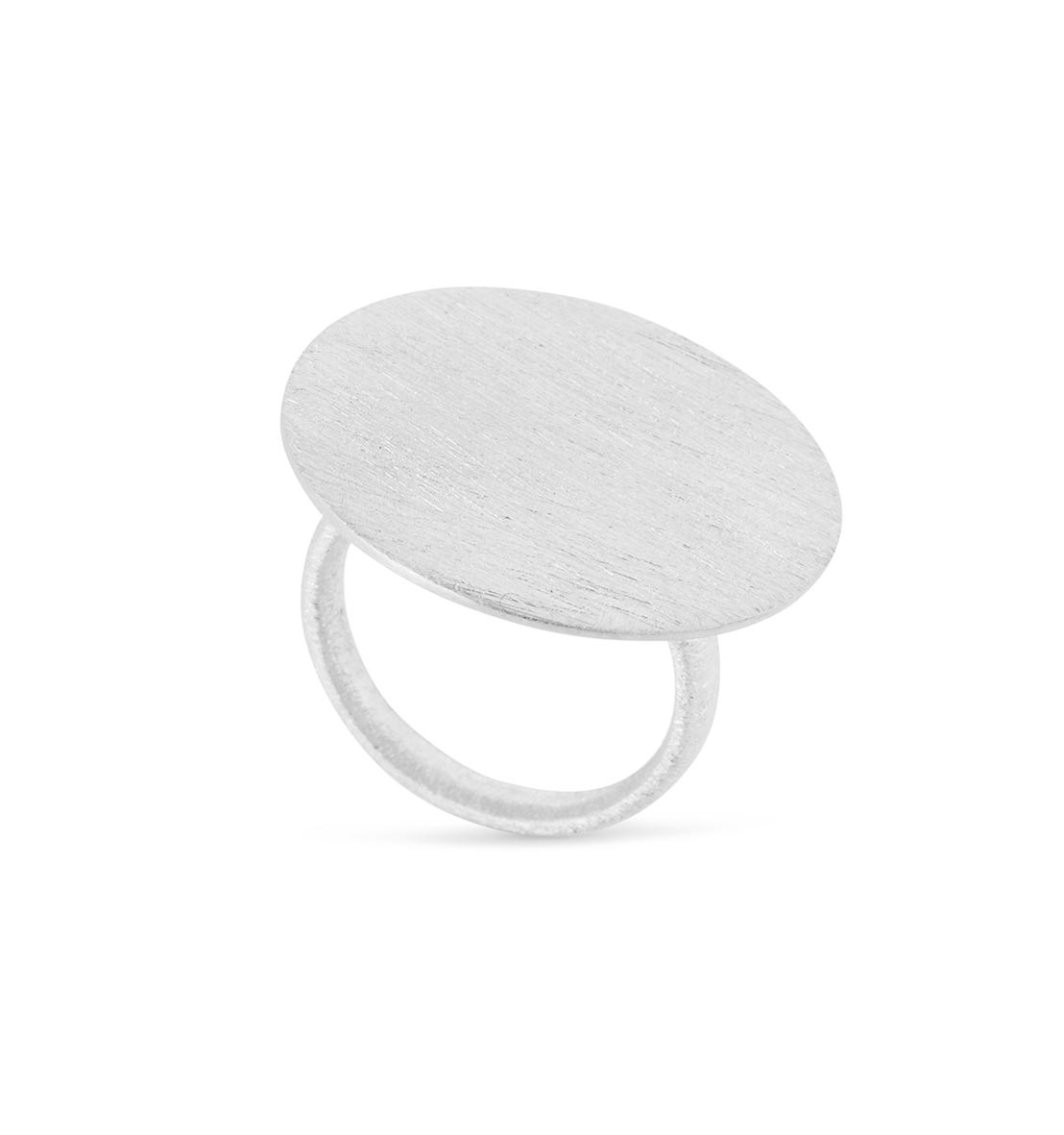 Image of   Sølv ring - 1684-1 Størrelse 54