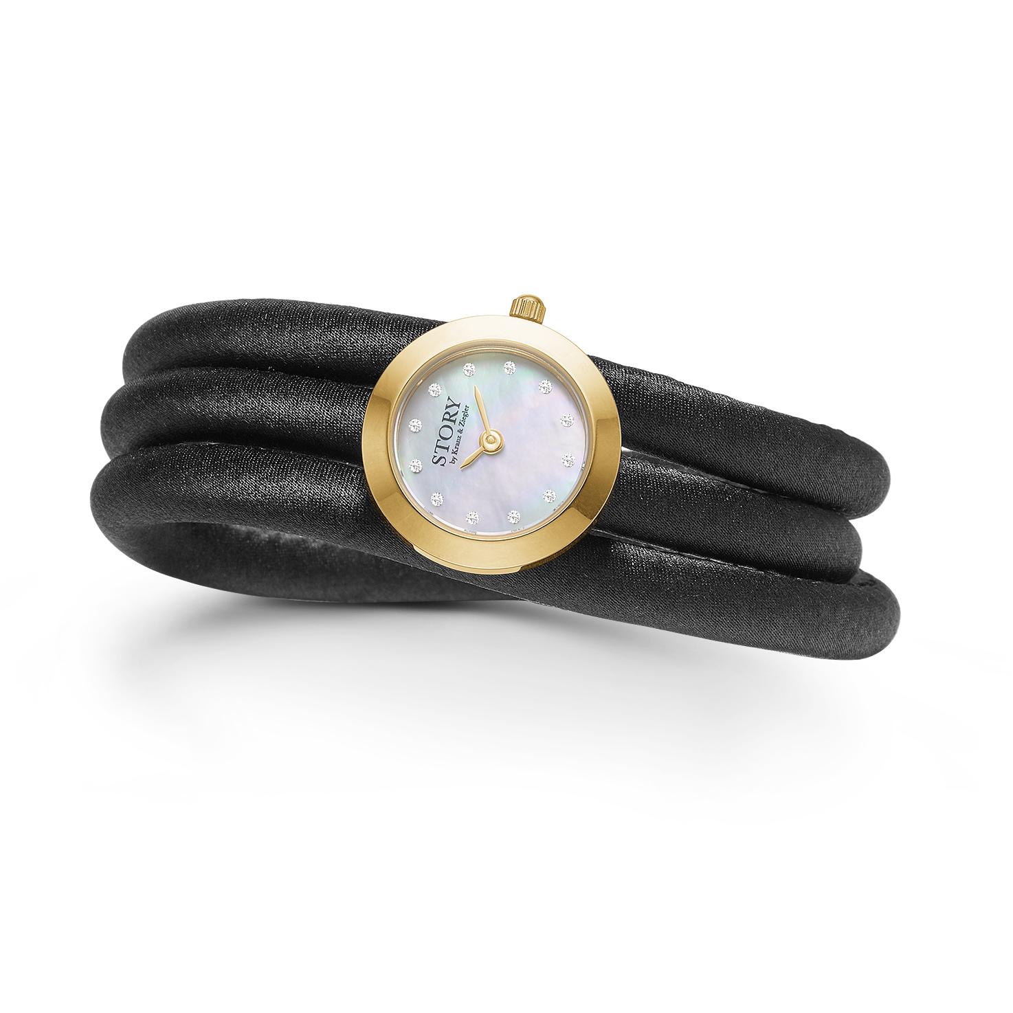 STORY kampagne armbånd med ur - 1904651 57 centimeter