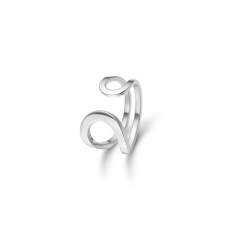mads ziegler Sølv ring harp - 2140018 størrelse 54 på brodersen + kobborg