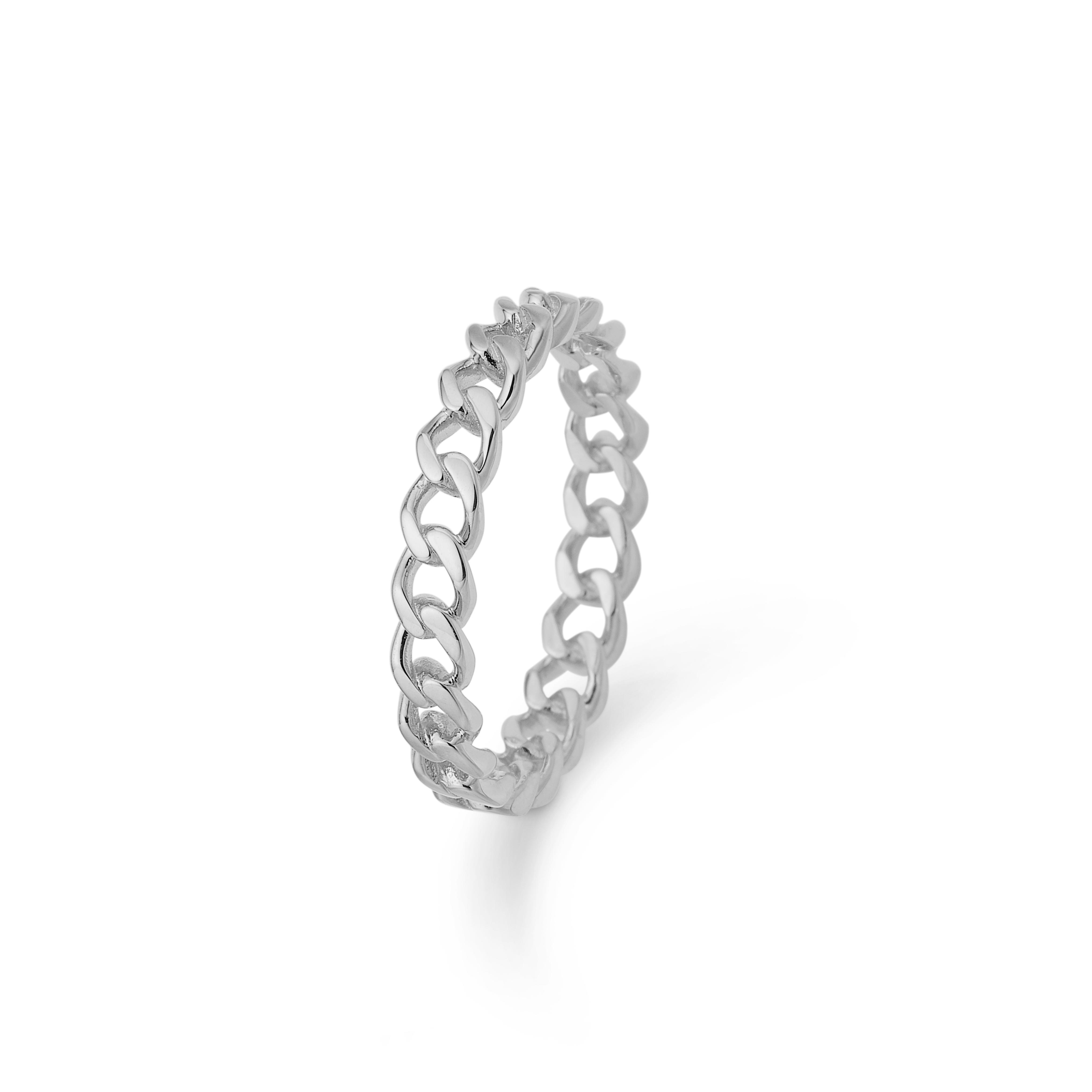Mads Ziegler sølv ring Poetry - 2140045 Størrelse 56