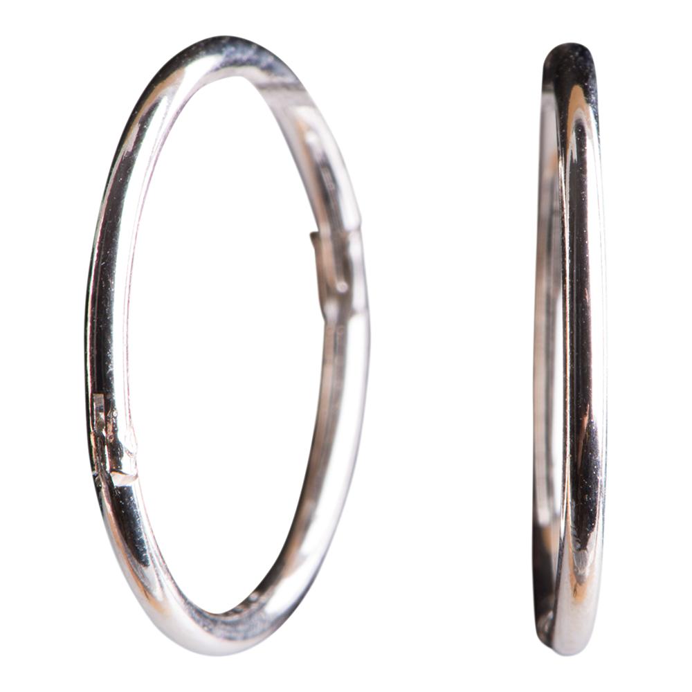 Sølv creol 14 mm - 3108029