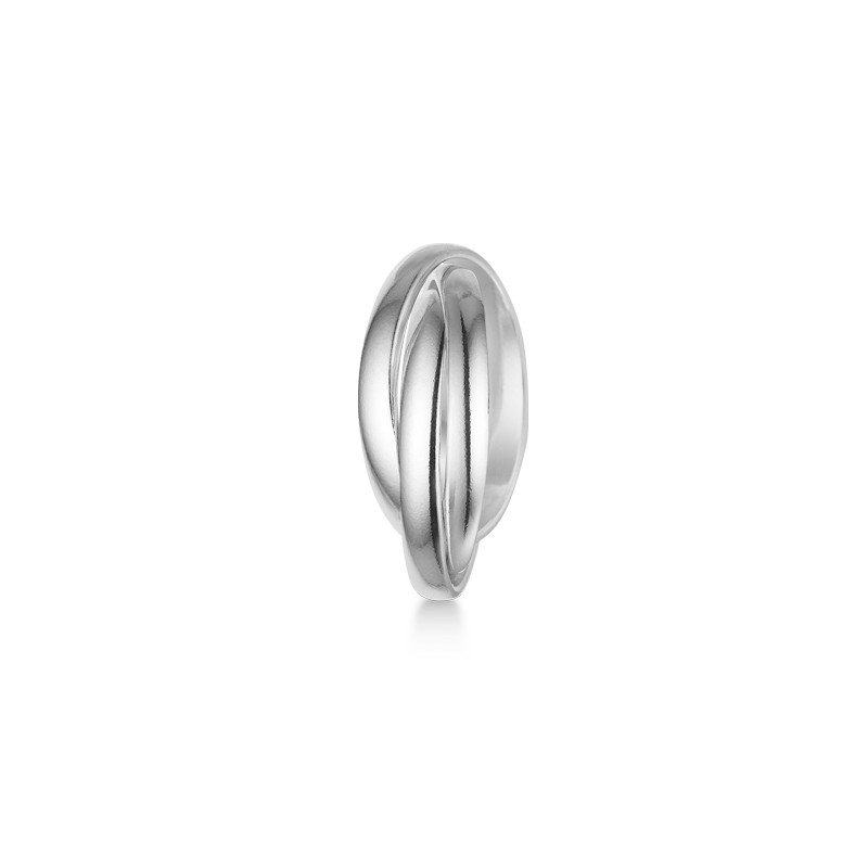 mads ziegler – Sølv ring trio - 3140188 størrelse 54 på brodersen + kobborg