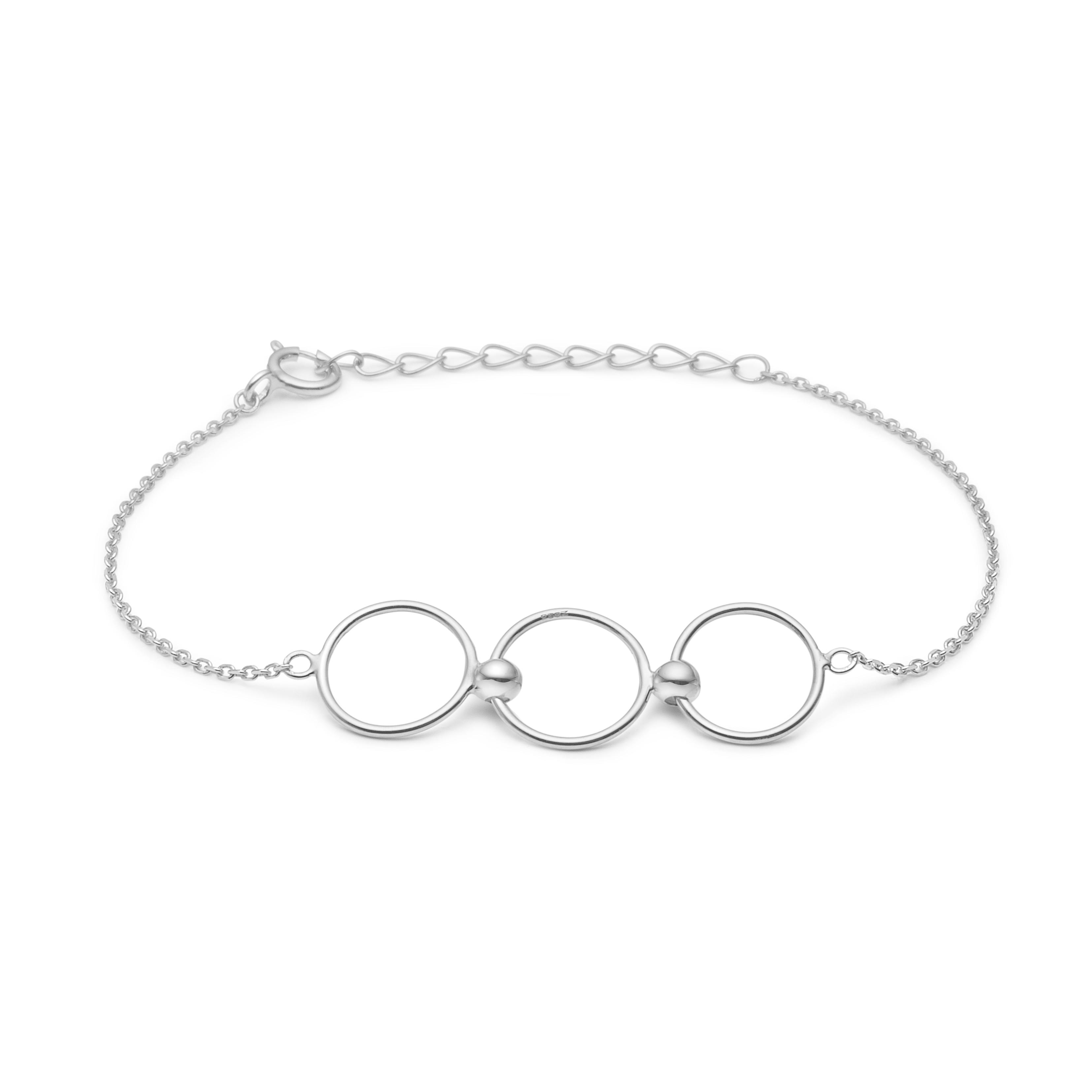 mads ziegler Sølv armbånd olympic - 3150135 på Edgy.dk