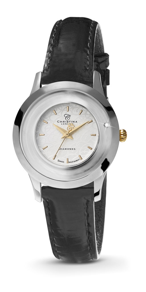 christina watches – Christina collect, bi-colour, 32 mm - 333bwbl fra brodersen + kobborg