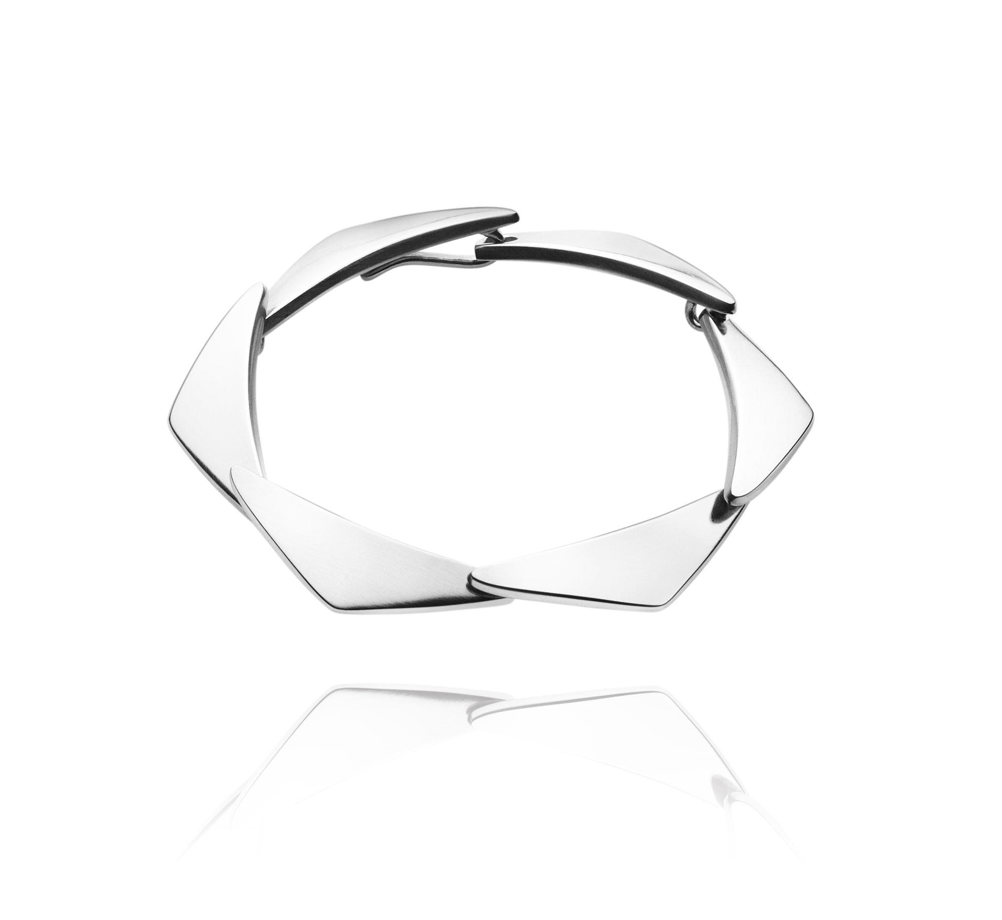 Georg Jensen PEAK armbånd med 7 led - 3531257 M/L - 19,5 centimeter