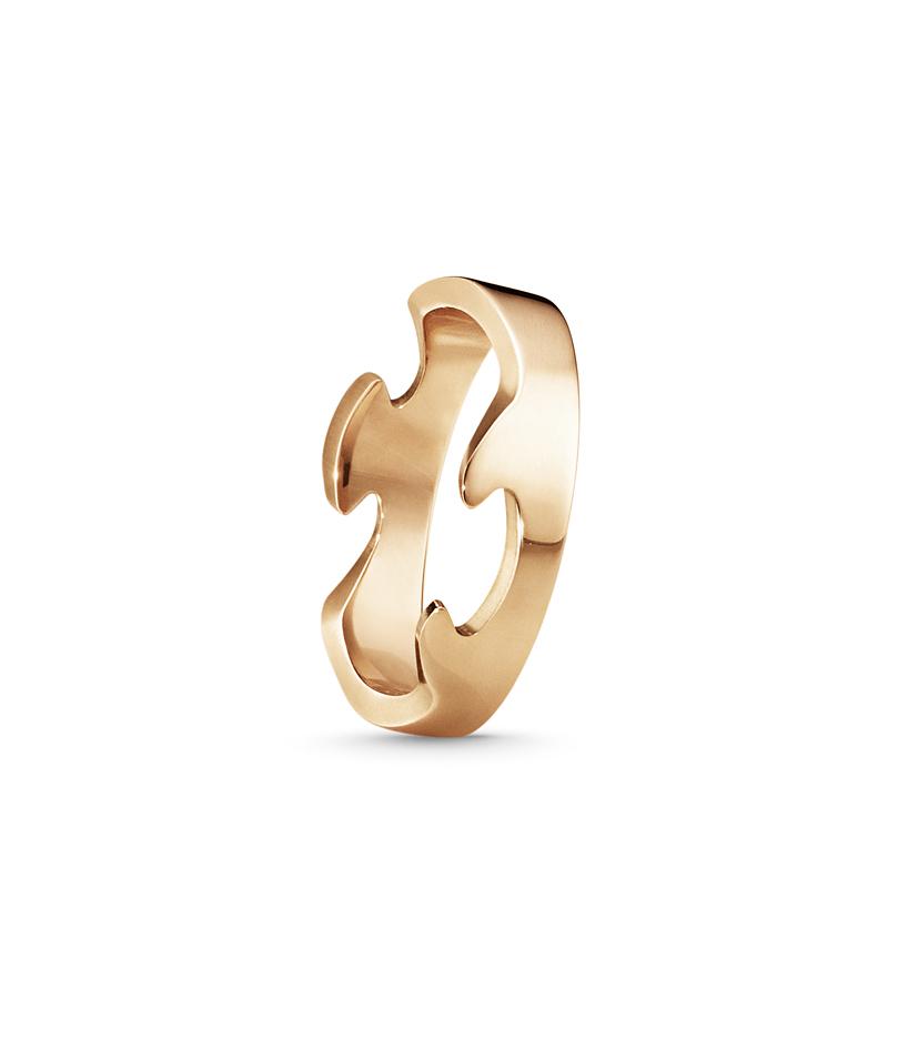 Georg jensen fusion ring - 3541700 størrelse 61 fra georg jensen fra brodersen + kobborg