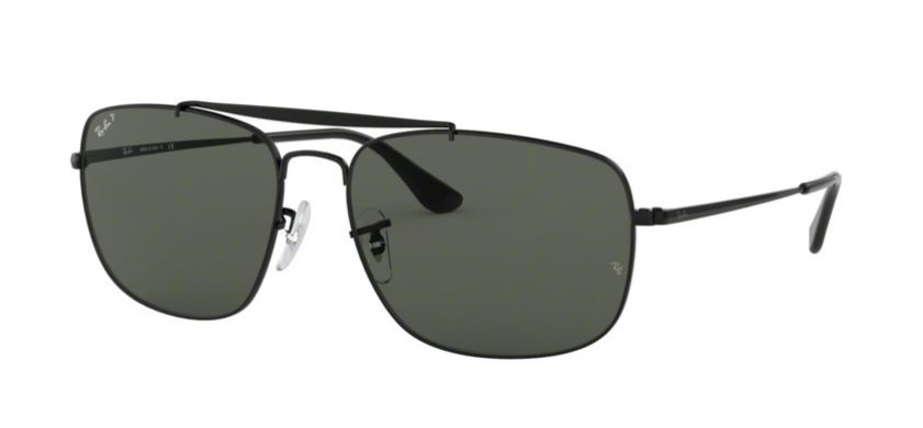 Image of   Rayban 3560 - 3560-002/58 THE COLONEL Størrelse 61
