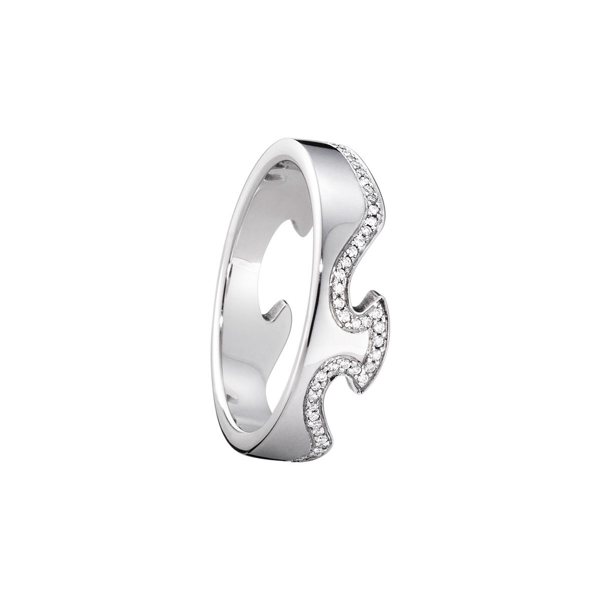 Image of   Georg Jensen FUSION ring - 3570860 Størrelse 52