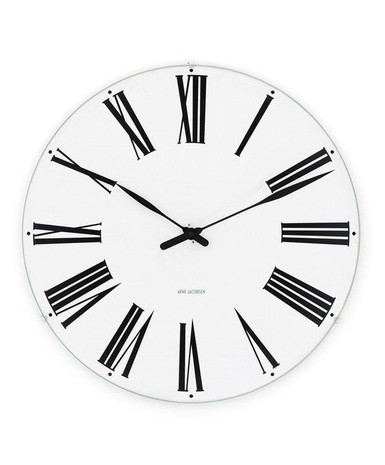 Image of   Arne Jacobsen Roman vægur - 43632 21 centimeter