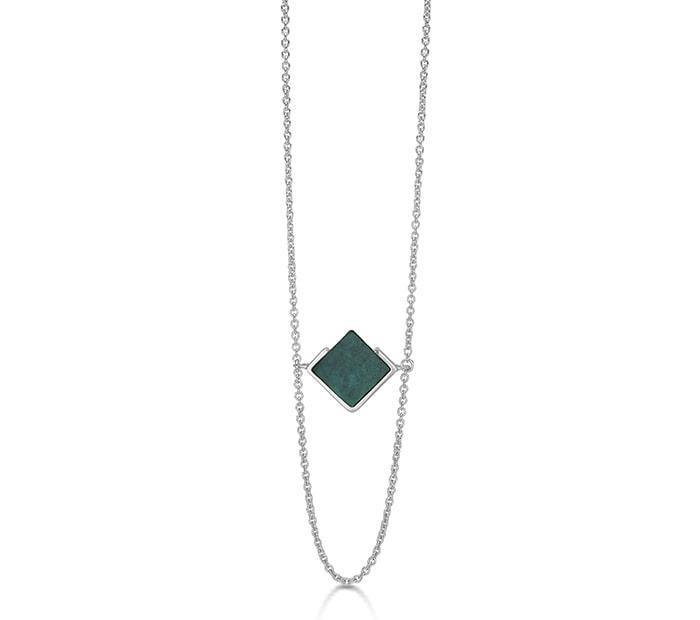 Billede af Kranz & Ziegler Rhodineret sølv halssmykke - 4403874-60