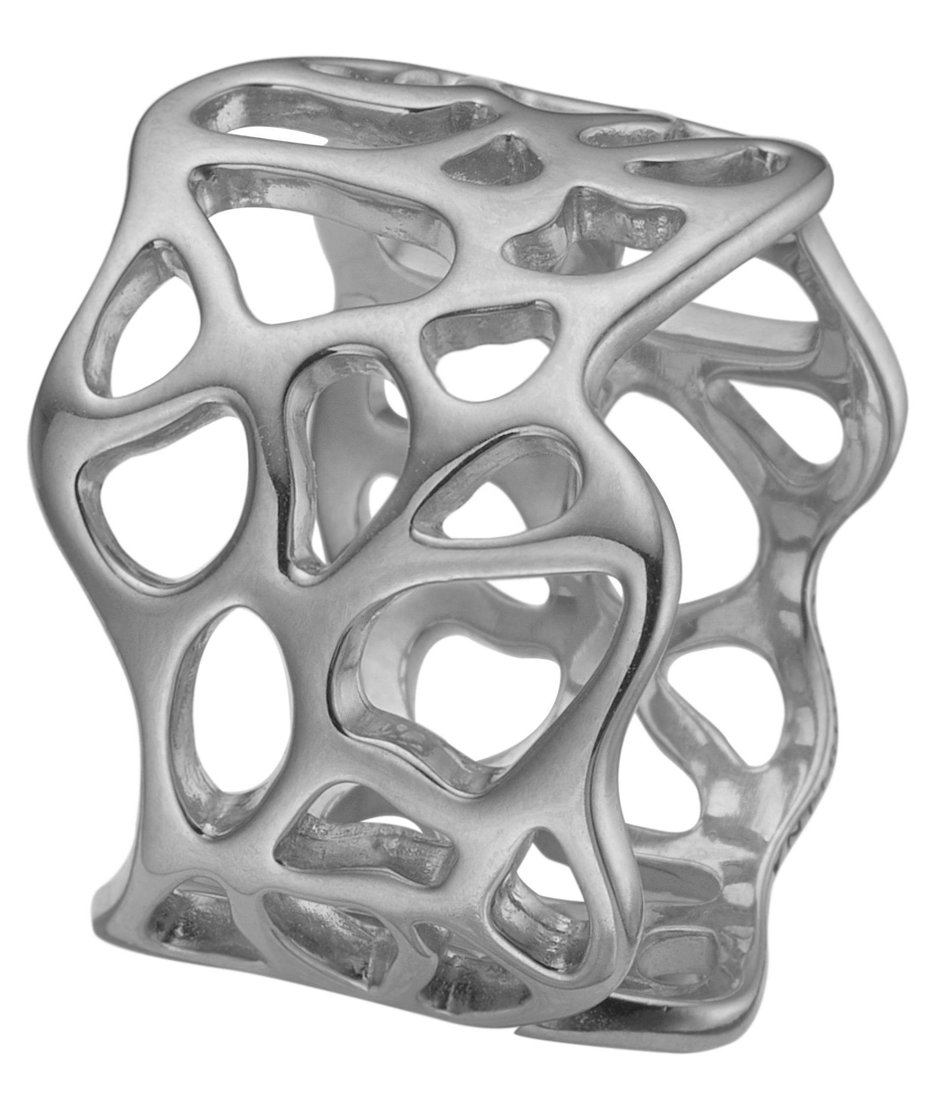 CHRISTINA sølv ring Nature of Light - 5.5A Størrelse 55