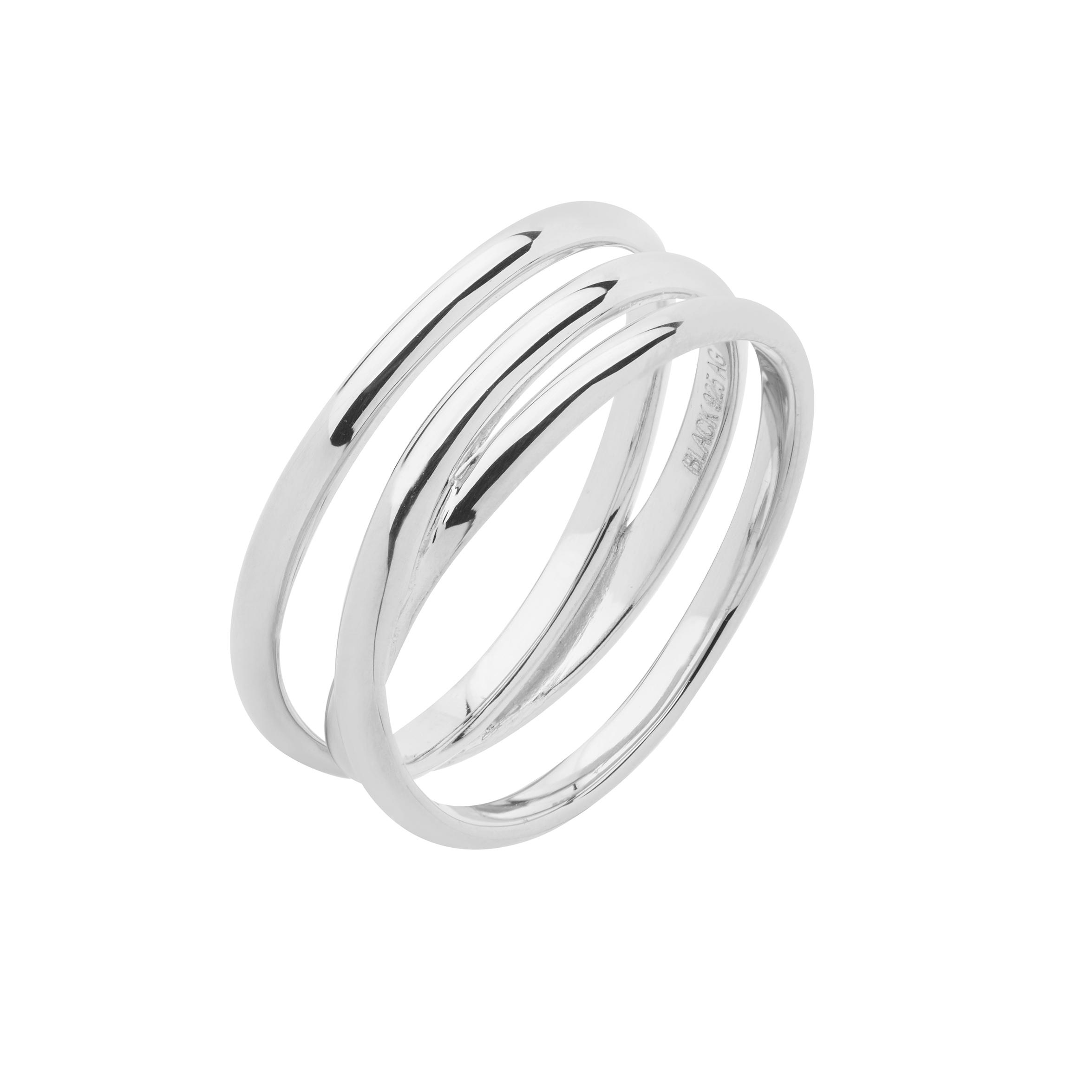 Maria black emilie wrap sølv ring - 500350 størrelse 52 fra maria black på brodersen + kobborg