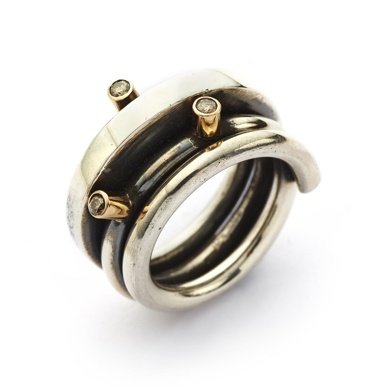 by birdie By birdie ring wire polished - 50110013 størrelse 56 fra brodersen + kobborg