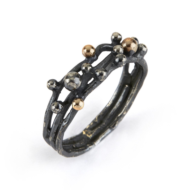 Image of   Ring Urban Harlem Buds-3 - 5011 0107 Størrelse 56
