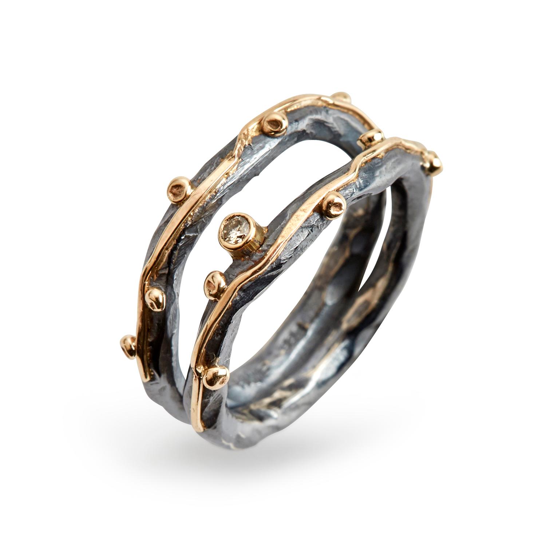 Image of   Ring Zeus Dubeca 0,05B - 5011 0151 Størrelse 57