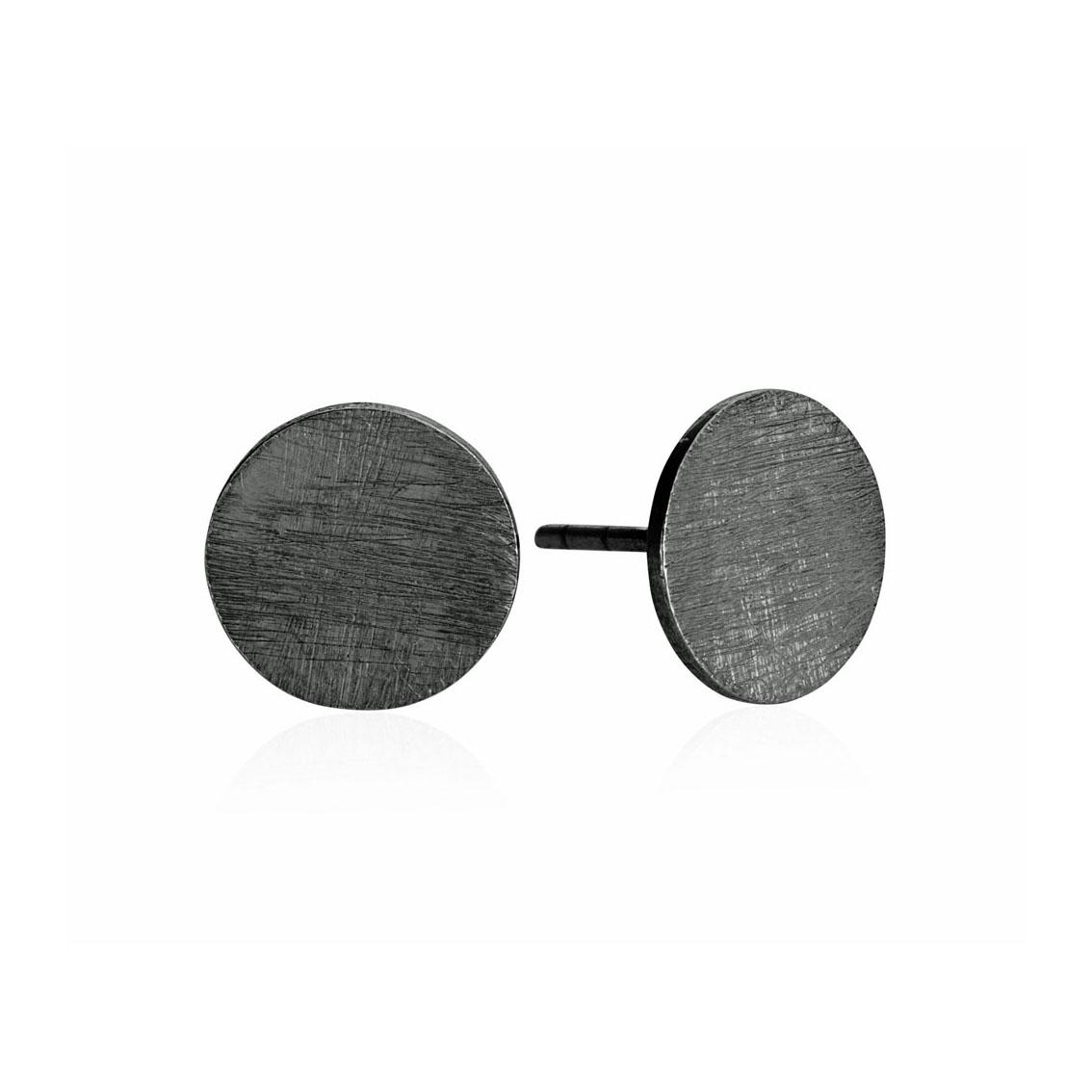 Image of   Oxideret sølv ørestikker - 5358-3
