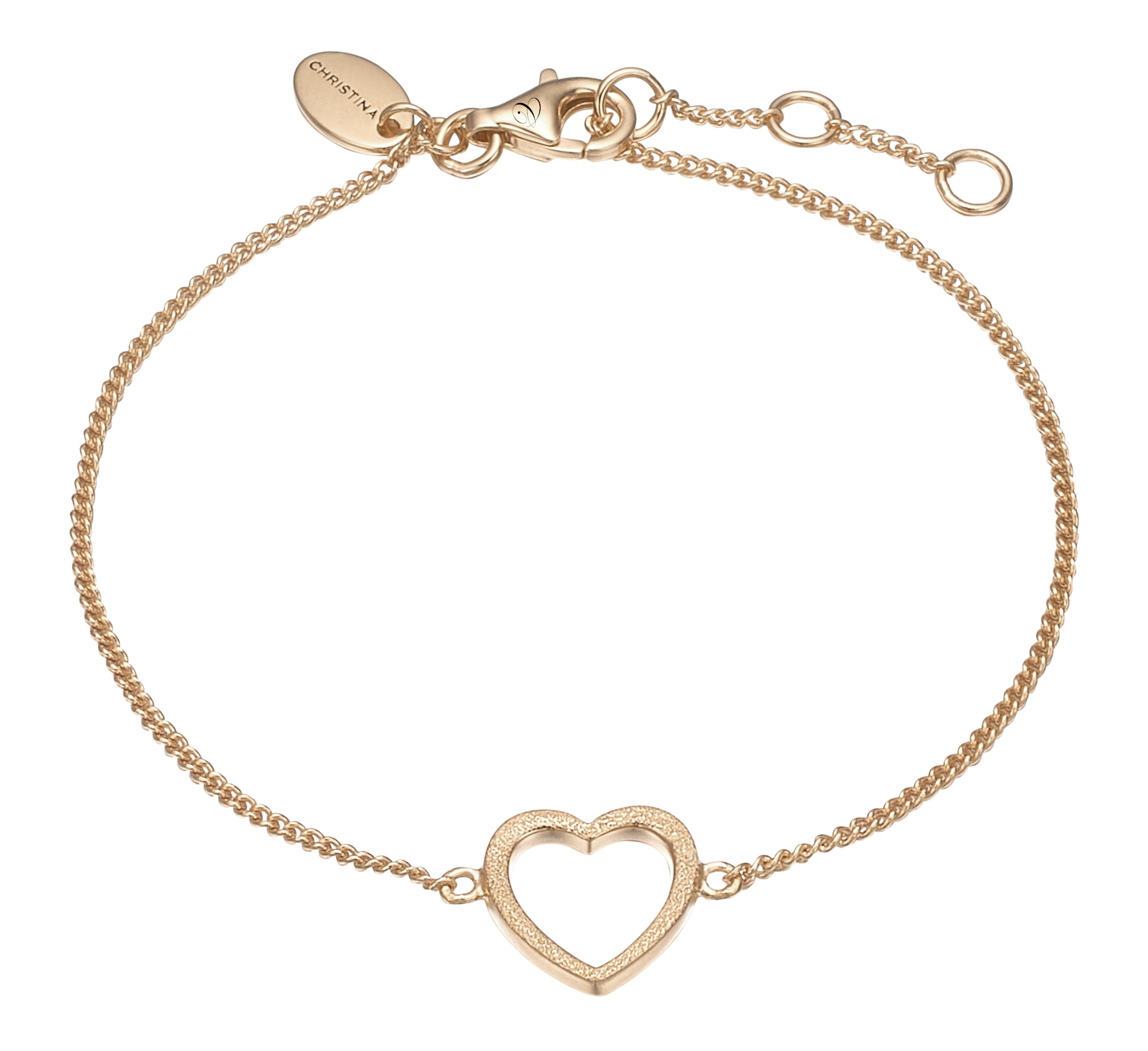 Image of CHRISTINA armlænke Magic Heart - 601-G17
