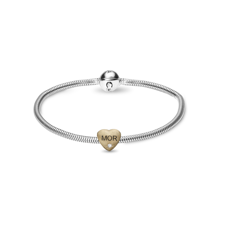 christina watches – Christina beads bracelet kampagne  - 615-mom-g 21 centimeter på brodersen + kobborg